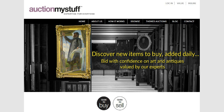 The auctionmystuff.com website